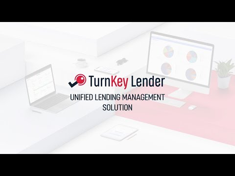 Unified Lending Management Solution By TurnKey Lender