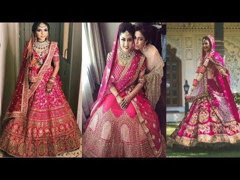 latest-pink-lehenga-designs/lehenga-choli-designs-for-wedding-receptions/latest-pink-lehenga-designs