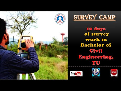 Survey Camp in Civil Engineering.This is what you have do in survey camp.