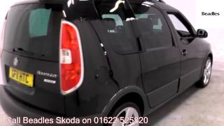 2011  Skoda Roomster Scout 1.6l Anthracite Grey Metallic GF11HTC for sale at Beadles Skoda Maidstone
