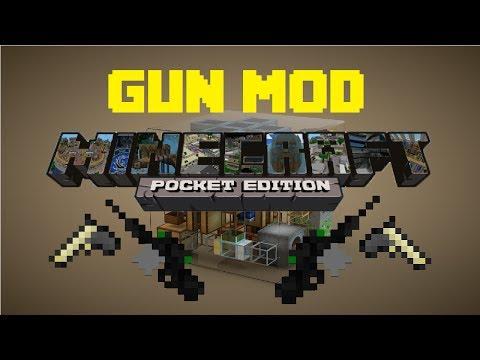 MCPE Script Mod - Simple Guns Mod! - Minecraft Pocket Edition
