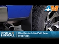2004-2014 Ford F-150 Weathertech No Drill Rear MudFlaps Review & Install