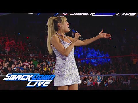 Lilian Garcia sings a stirring rendition of the Star-Spangled Banner: Exclusive, July 4, 2017