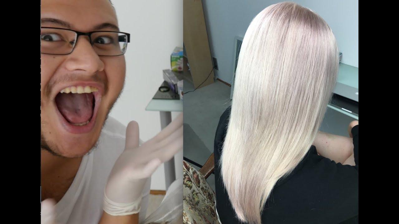 Haare farben fail