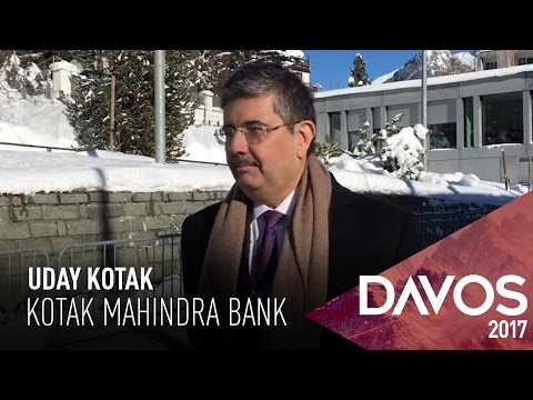 WEF 2017: Uday Kotak On Global Markets