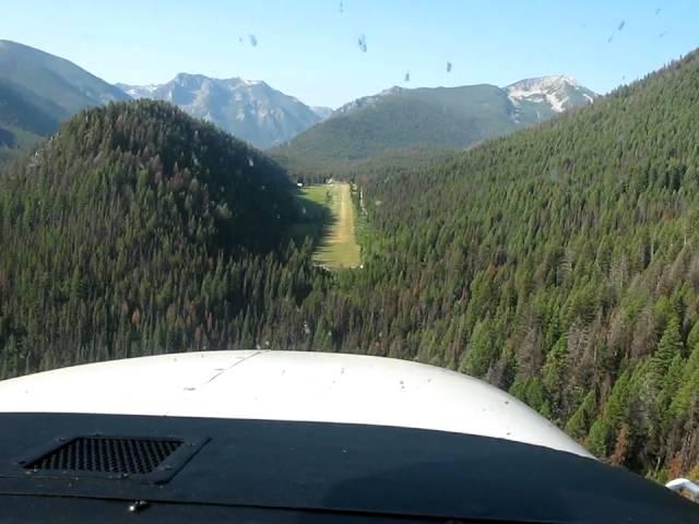 Big Creek, Idaho Landing