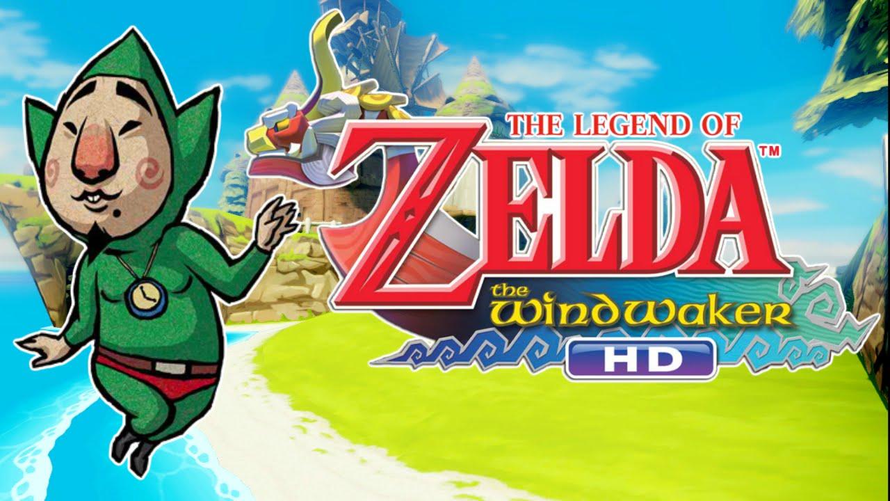 The Legend Of Zelda Wind Waker Hd Creepy Tingle And His Treasure