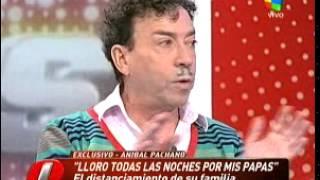Aníbal Pachano y la distancia con su hija Sofía