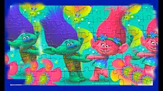 Trolls Puzzle Games for Kids ! Funny video kids puzzle story of Trolls