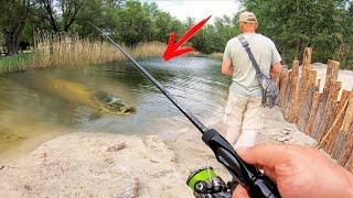 УЛЬТРАЛАЙТ РЫБАЛКА где ЛОВИТСЯ ВСЁ!!! Ловля на попла-поппер и отводной поводок на малой реке