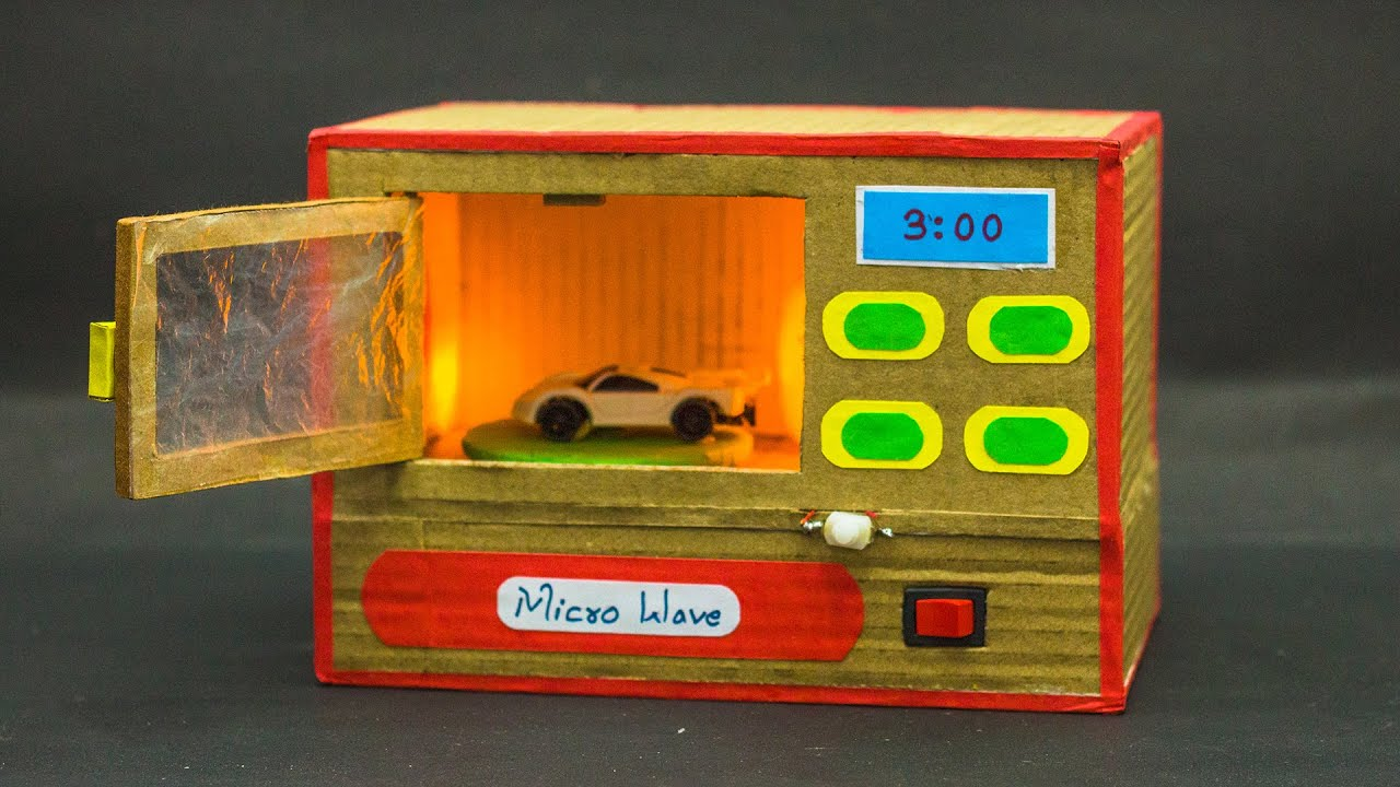 School Science Projects    Microwave Working Model