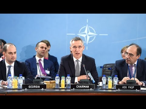 NATO Secretary General - NATO-Georgia Commission at Meetings of Defence Ministers, 6 DEC 2017