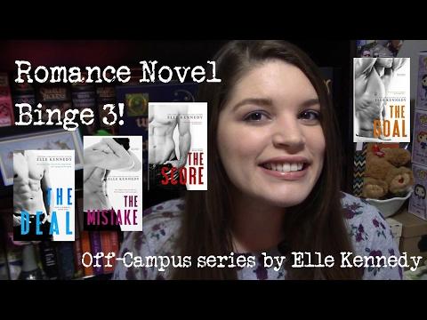 Romance Novel Binge 3! Off-Campus Series By Elle Kennedy
