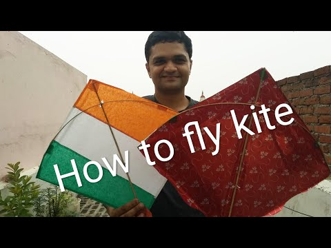 How to fly a kite in hindi | Happy Independence Day | 15 August Celebration | Tutorial for beginners
