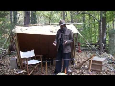 Steve Watts' Classic Camping Setup