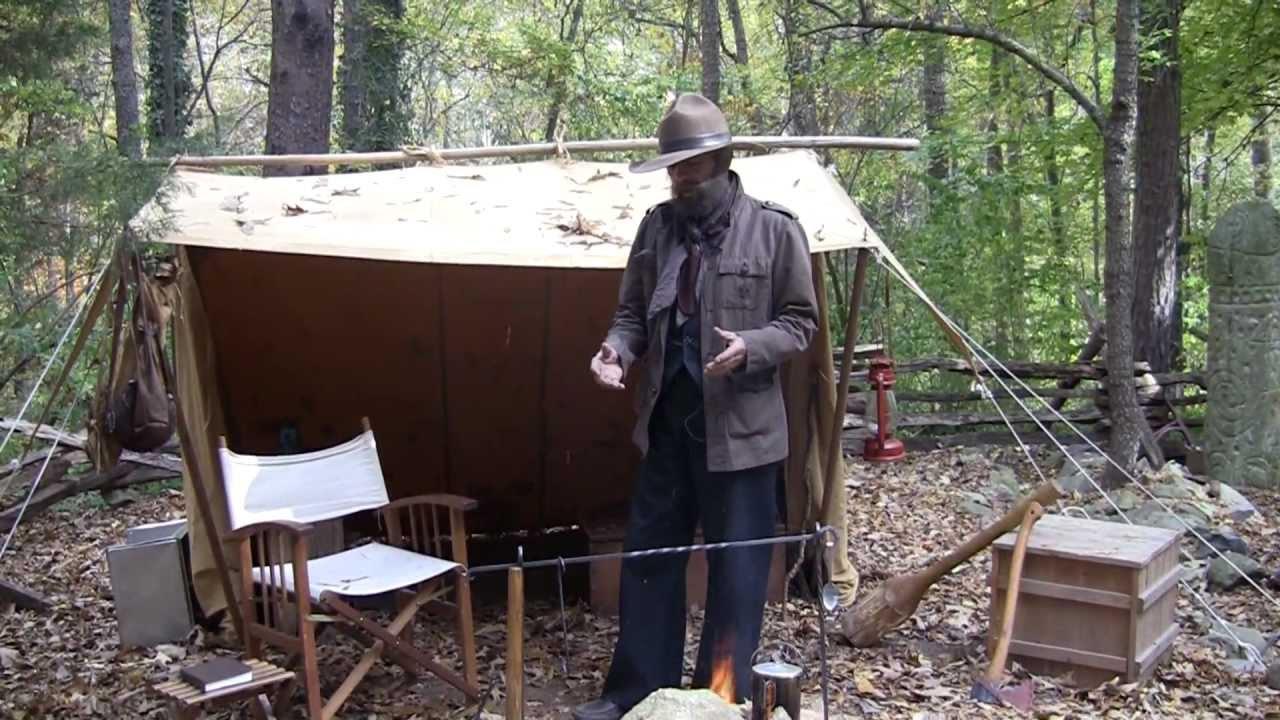 Steve Watts Classic Camping Setup Youtube