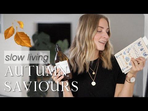 Autumn saviours: beauty, style, books & activities   Mindful lifestyle