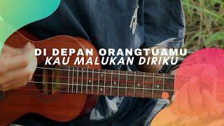 BERBEZA KASTA - Thomas arya (lirik & chord) Cover Ukulele by Alvin Sanjaya