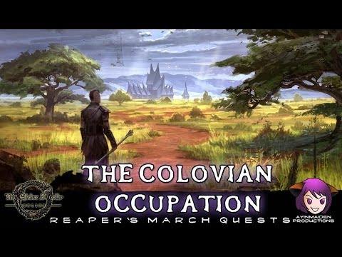 ★ Elder Scrolls Online ★ - L38 The Colovian Occupation
