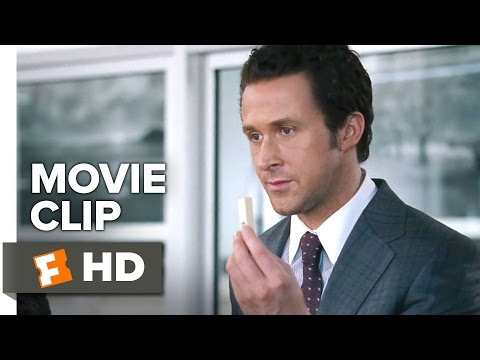 The Big Short Movie CLIP - Jenga (2015) - Ryan Gosling, Steve Carell Drama HD