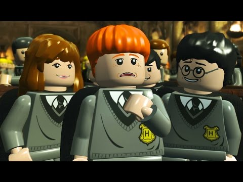 LEGO Harry Potter Remastered Walkthrough Part 1 - The Philosopher's Stone