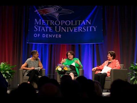 U.S. Supreme Court Justice Sonia Sotomayor returns to MSU Denver