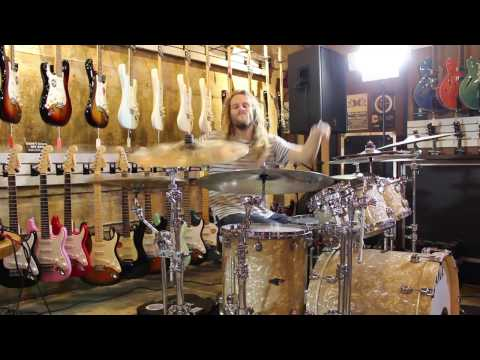 Wills Weller of Toothgrinder-The House that fear built drum playthrough