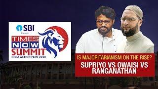 Asaduddin Owaisi VS Babul Supriyo VS Anand Ranganathan | Is majoritarianism on the rise?