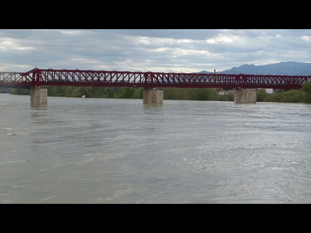 L'Ebre, a punt de desbordar-se - Tortosa - Abril 2018