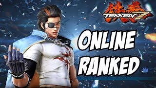 Tekken 7 Hwoarang gameplay ps4 online ranked matches