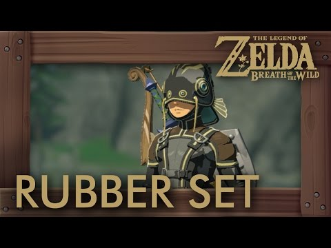 Zelda Breath of the Wild  Rubber Armor Set Location