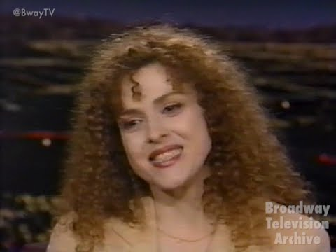 Bernadette Peters Interview (Late Late Show with Tom Snyder 18-June-1997)
