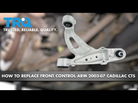 How to Replace Front Passenger Side Lower Control Arm 03-07 Cadillac CTS