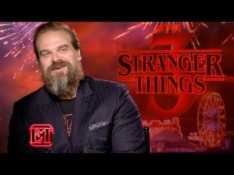 Stranger Things Season 3: David Harbour Reacts to THAT