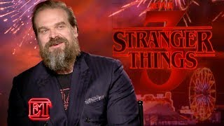 Stranger Things Season 3: David Harbour Reacts to THAT Finale!