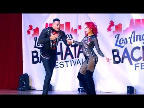 Fausto Felix and Maria Ramos at the 2017 LABF