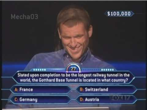 """Oh, why did I do that?"" - Who Wants to be a Millionaire [Old Format]"