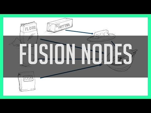 Fusion Nodes... Explained With Cookies! - Resolve 15 Fusion Tab Tutorial