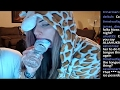 TWITCH Girl SHOVES Bottle in Her Mouth On Cam During Livestream - Sexy Hot Shots and Compilations