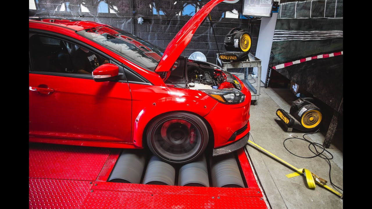 Ford Focus St Boosted With Atp Bolt On Gtx28 Turbo Upgrade