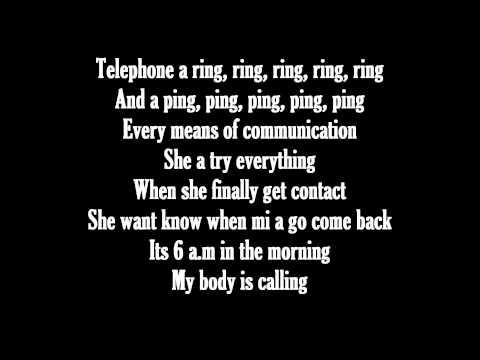 Konshens - I'm Coming (Lyrics On Screen)