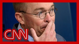 Mulvaney contradicted by his own words | Erin Burnett
