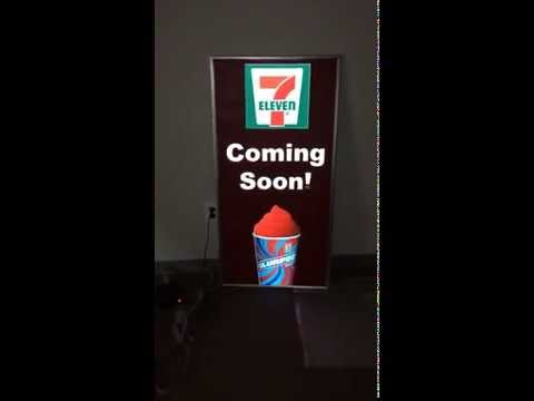 Animated 7 Eleven Sign