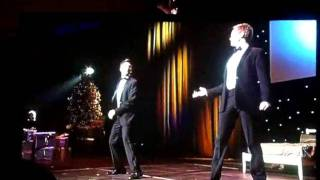 NPH and David Burtka Singing Your The Top At Trevor Live