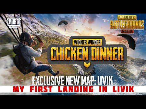 pubg-mobile-new-map-livik-|-first-landing-chicken-dinner-in-livik-|-pubg-mobile-season-14-update