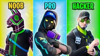 NOOB vs PRO vs HACKER - Fortnite Funny Moments #21