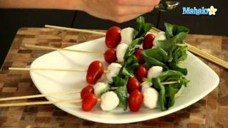 How To Make Caprese Skewers