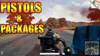Pistols & Care Packages ONLY! PLAYERUNKNOWN