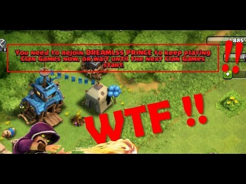 What Happens When Someone Will Kick Out You During The Clan Games? Are You Get Any Rewards?