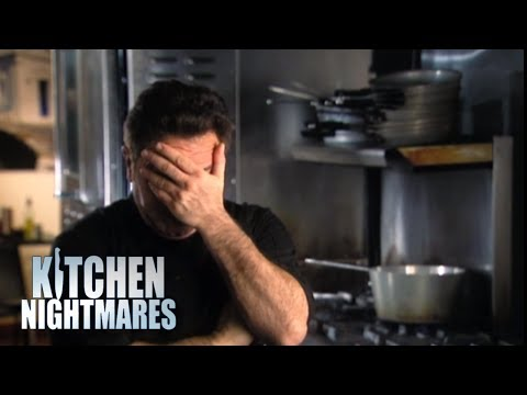 Lazy Chef Microwaves Yesterday's Food - Kitchen Nightmares